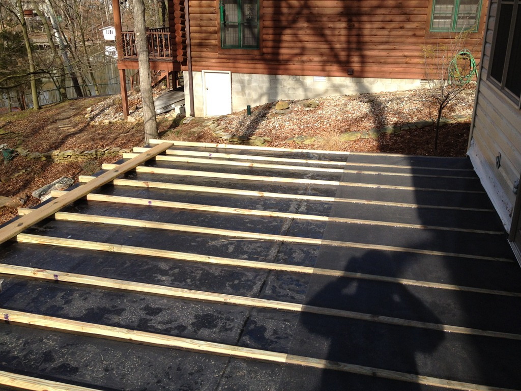 Building a deck on top of a garage 2017 2018 best cars for Garage under deck